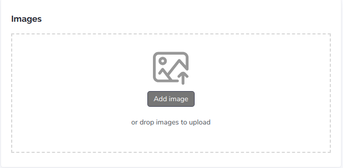adding product images on Tradift