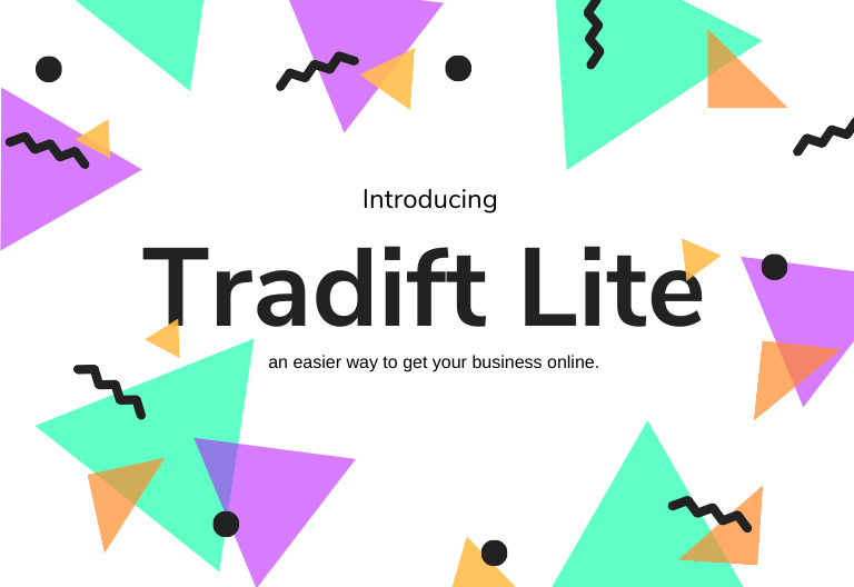 Introducing Tradift Lite, an easier way to get your business online. image